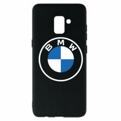 Чохол для Samsung A8+ 2018 BMW logotype 2020