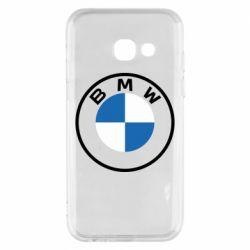 Чохол для Samsung A3 2017 BMW logotype 2020
