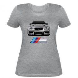 Женская футболка BMW M Power Car - FatLine