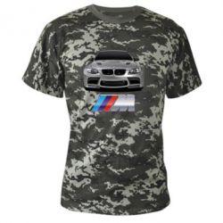 Камуфляжная футболка BMW M Power Car - FatLine