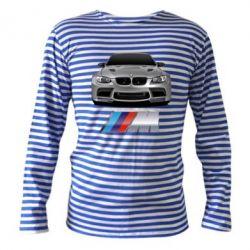 Тельняшка с длинным рукавом BMW M Power Car - FatLine