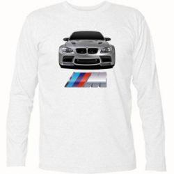 Футболка с длинным рукавом BMW M Power Car - FatLine