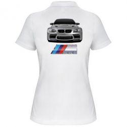 Женская футболка поло BMW M Power Car - FatLine