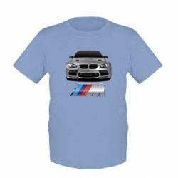 Детская футболка BMW M Power Car - FatLine
