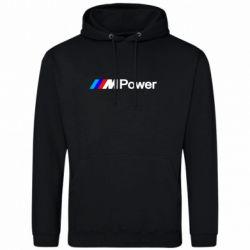 Мужская толстовка BMW M Power logo - FatLine