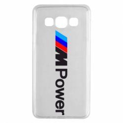 Чехол для Samsung A3 2015 BMW M Power logo