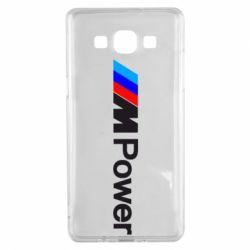 Чехол для Samsung A5 2015 BMW M Power logo