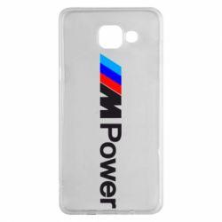 Чехол для Samsung A5 2016 BMW M Power logo