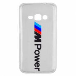 Чехол для Samsung J1 2016 BMW M Power logo