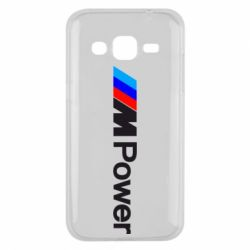 Чехол для Samsung J2 2015 BMW M Power logo