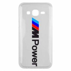 Чехол для Samsung J5 2015 BMW M Power logo