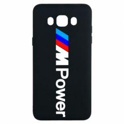Чехол для Samsung J7 2016 BMW M Power logo