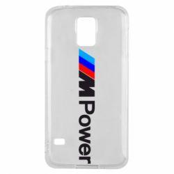 Чехол для Samsung S5 BMW M Power logo