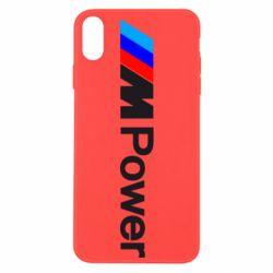 Чехол для iPhone Xs Max BMW M Power logo