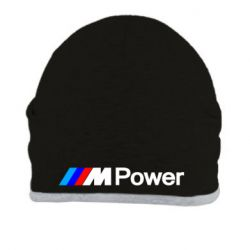 Шапка BMW M Power logo - FatLine