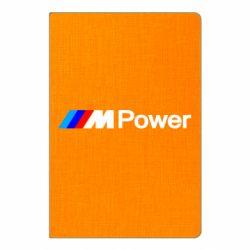 Блокнот А5 BMW M Power logo