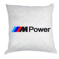 Подушка BMW M Power logo - FatLine