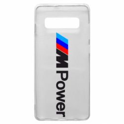 Чехол для Samsung S10+ BMW M Power logo