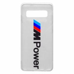 Чехол для Samsung S10 BMW M Power logo