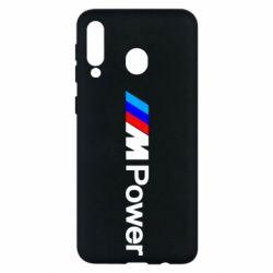 Чехол для Samsung M30 BMW M Power logo