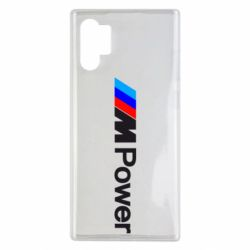Чехол для Samsung Note 10 Plus BMW M Power logo