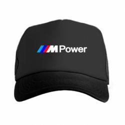 Кепка-тракер BMW M Power logo - FatLine
