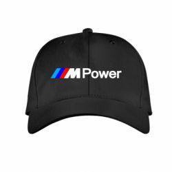 Детская кепка BMW M Power logo - FatLine