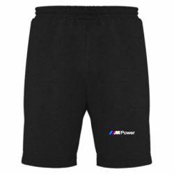 Мужские шорты BMW M Power logo - FatLine
