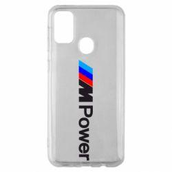 Чехол для Samsung M30s BMW M Power logo