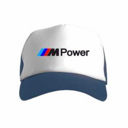 Детская кепка-тракер BMW M Power logo