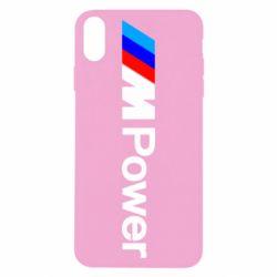 Чехол для iPhone X/Xs BMW M Power logo