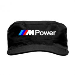 Кепка милитари BMW M Power logo - FatLine