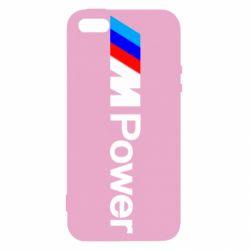 Чехол для iPhone5/5S/SE BMW M Power logo