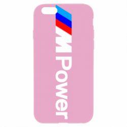 Чехол для iPhone 6/6S BMW M Power logo