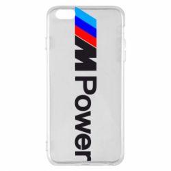 Чехол для iPhone 6 Plus/6S Plus BMW M Power logo