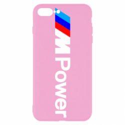 Чехол для iPhone 7 Plus BMW M Power logo