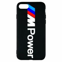 Чехол для iPhone 8 BMW M Power logo