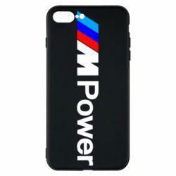 Чехол для iPhone 8 Plus BMW M Power logo