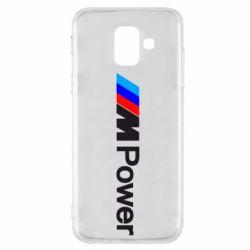 Чехол для Samsung A6 2018 BMW M Power logo