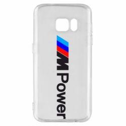 Чехол для Samsung S7 BMW M Power logo