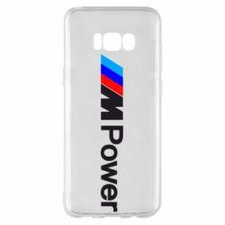 Чехол для Samsung S8+ BMW M Power logo