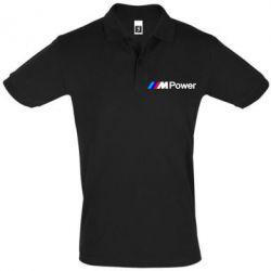 Мужская футболка поло BMW M Power logo