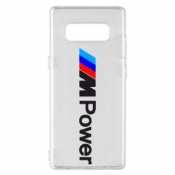 Чехол для Samsung Note 8 BMW M Power logo