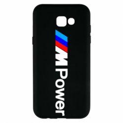 Чехол для Samsung A7 2017 BMW M Power logo