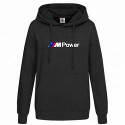 Женская толстовка BMW M Power logo - FatLine
