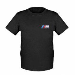 Детская футболка BMW M POWER Small - FatLine