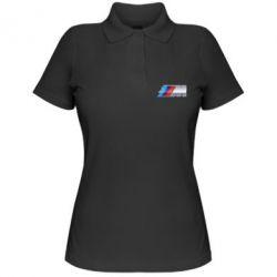 Женская футболка поло BMW M POWER Small - FatLine