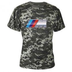 Камуфляжная футболка BMW M POWER - FatLine