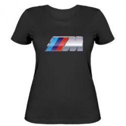 Женская футболка BMW M POWER - FatLine