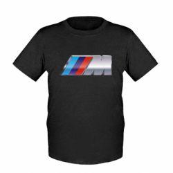 Детская футболка BMW M POWER - FatLine